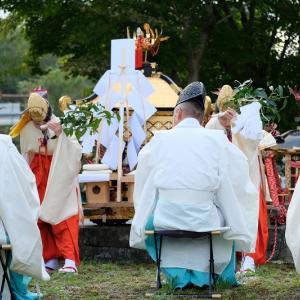 神石高原町の伝統的な秋祭り【油木地区】