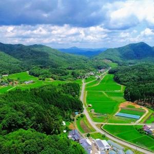 神石高原町がどのくらい「3密」の無い、のどかな山里かを検証してみました。