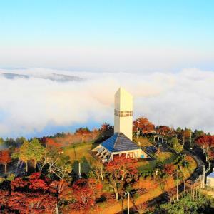 unkai 360 天空のタワーから楽しむ360°の絶景雲海【広島県神石高原町】