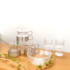 Iittalaの繊細なデザインのガラス
