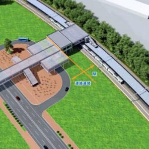 日ハム新球場、目の前に新駅が出来る