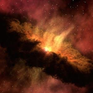 ビックバン理論って一点にとんでもないエネルギーがあってそれが爆発して宇宙が広がったって言うけど