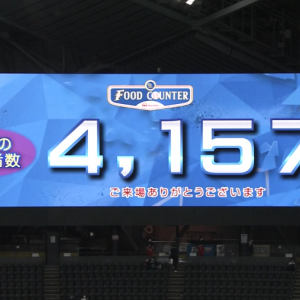 【悲報】札幌ドーム、観客が少な過ぎる