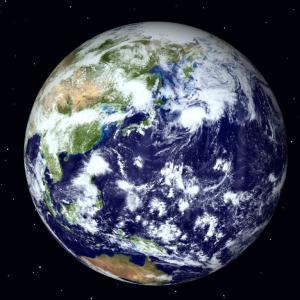 地球がいきなり真っ二つに割れたら何秒くらいは生存できる?