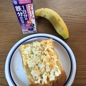 最近の朝食