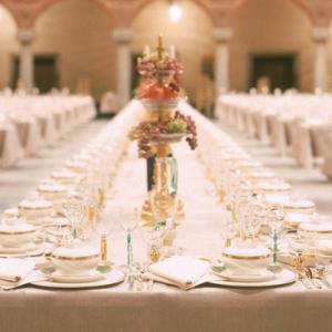 ノーベル賞晩餐会のテーブル&紅茶