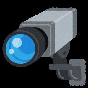 職場の防犯カメラ