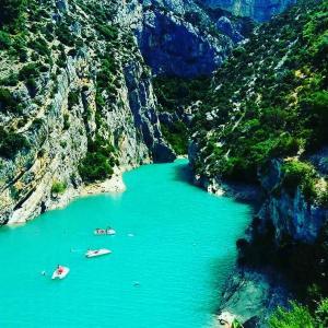 Gorges du Verdon 南仏ヴェルドン渓谷は必見。