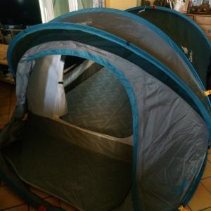 Tente pop up ポップアップテントを購入@南フランスの暮らし