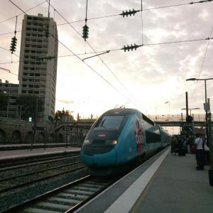 Voyager en train vers Limoges リモージュへ電車の旅 from 南仏