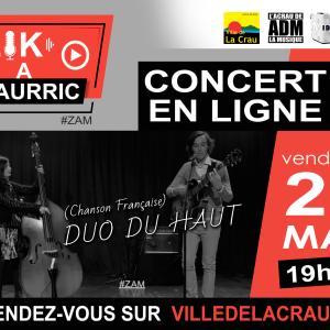 Concert en ligne フランスの音楽オンラインコンサート@南フランスから