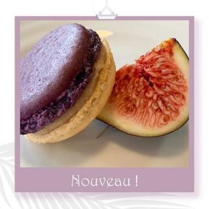 Macaron à la figue 南仏いちじくのマカロンが人気です。