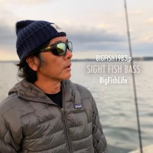 """BIGFISH1983""""SIGHT FISH BASS""""をつけてみたよ"""