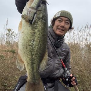 霞ヶ浦本湖でボラコンフィッシュ!