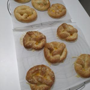 パン教室ーカリカリポテトのプレッツェル