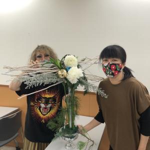 フラワーアレンジメントレッスン@名古屋駅前教室