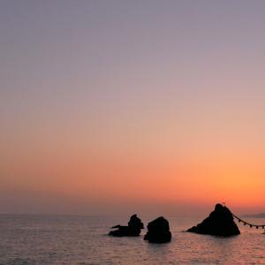 いつもの田んぼ~20210501 &夫婦岩の朝