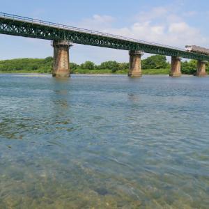 いつもの鉄橋~20210614