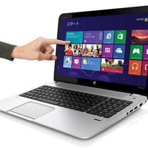 ノートパソコン・HP「ENVY TouchSmart 15-j036tx」の再セットアップ