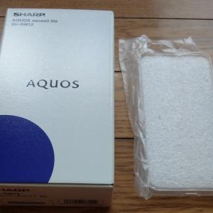 シャープのスマホ「AQUOS sense3 lite SH-RM12」が届いた