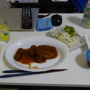 出張5日目の晩飯