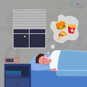暑くて眠れない夜 ・・もしかして夜食症候群!?