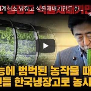 【動画あり】韓国人「世界初の植物栽培冷蔵庫を韓国が開発!」日本国民も韓国の冷蔵庫で農業をする可能性も! 韓国の反応