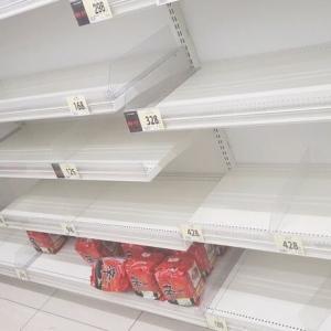 【悲報】韓国人「日本人は非常時でも韓国製品を買わないのですか?」買い溜め騒動でもまたあの韓国産食品が売れ残る 韓国の反応