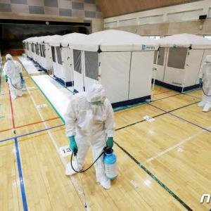 【画像あり】韓国人「日本VS韓国」日本と韓国の水害避難所の違いがこちら‥ 韓国の反応