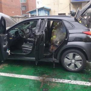 韓国人「また韓国製電気自動車が炎上!」現代コナ電気自動車が充電中に火災… 韓国の反応