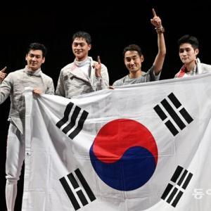 【反日】韓国人「韓国テレビ局がフェンシング男子日韓戦の生中継を途中で打ち切り!」韓国の敗北が濃厚で別の競技に切り替えてしまう 韓国の反応