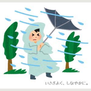 乳がん4年生56日目(台風接近、地球史上最大級!?)