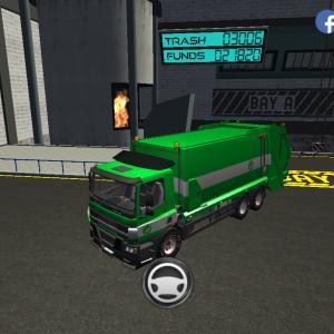 【Trash Truck Simulator】(#247/121)ジェットコースターの日配信