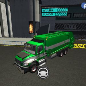 Trash Truck Simulator(#263/128)かき氷の日配信