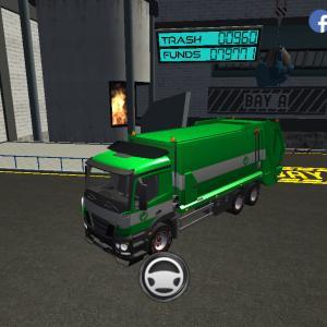Trash Truck Simulator(#275/140)ハンコの日配信