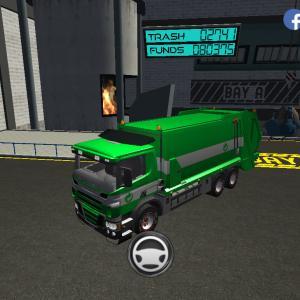 Trash Truck Simulator(#276/141)ハム(食の方)の日配信