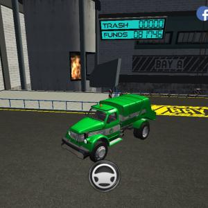 Trash Truck Simulator(#277/142 雑音あるかも)バナナの日配信