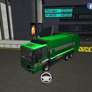 Trash Truck Simulator(#323/194)かいわれ大根の日配信