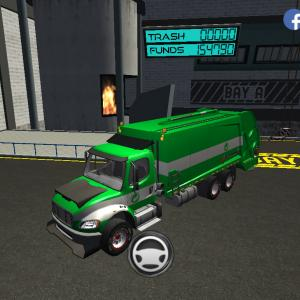 Trash Truck Simulator(#327/198)秋分の日配信