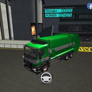 Trash Truck Simulator(#325/231)文鳥の日配信