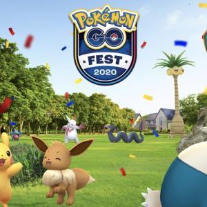 Pokemon GO FEST 2020 1日目
