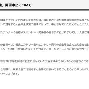 第74回富士登山競走中止に
