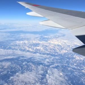 北海道への飛行機から、そしてルスツリゾートの天気