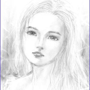 ☆美人画ラフ「Alethea(アルシア)」