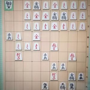 将棋アプリで。。。