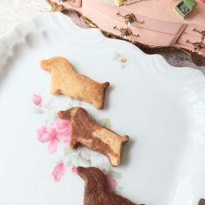 愛犬の無添加クッキー