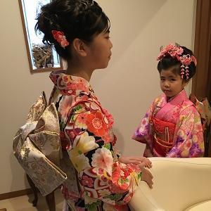 元花嫁さんの七五三をお手伝い!