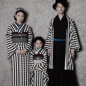 七五三 パパママとお揃い着物も素敵です!