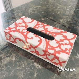 箱ごとすっぽり入るティッシュボックス