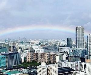 即位の礼の日に虹と今日との日から観てみる
